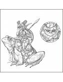 SQUARG  le chevaucheur de grenouille